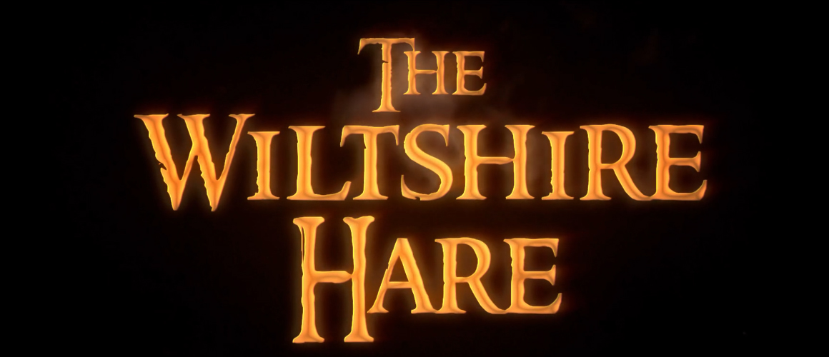 The Three Hares Title Treatment